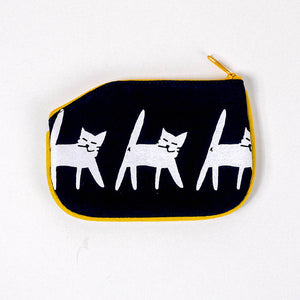Cat Crossing Coin Purse