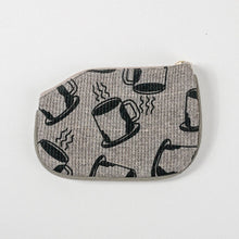Load image into Gallery viewer, Coffee Pattern Coin Purse