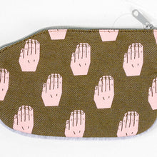 Load image into Gallery viewer, Raise Your Hand Coin Purse