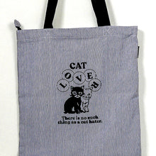 Load image into Gallery viewer, Cat Lover Tote Bag