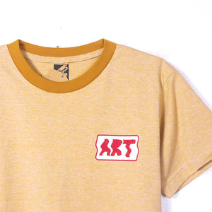 Warp Art Camel Girls Tee