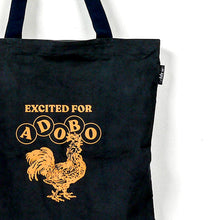 Load image into Gallery viewer, Excited For Adobo Tote Bag