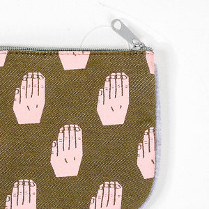 Raise Your Hand Coin Purse