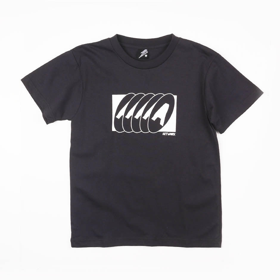 5A Art Navy Girls Tee