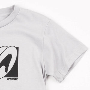 5A Art Gray Girls Tee