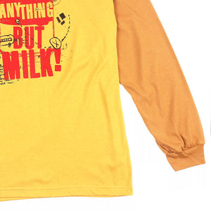 Anything But Milk Longsleeved Tee