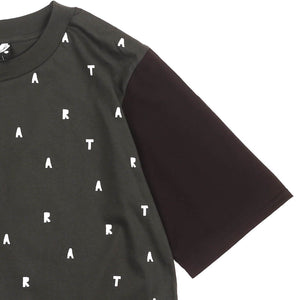 A Pattern Girls Cropped Tee