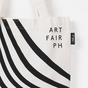 ARTWORK x Art Fair PH Blk Wave Tote