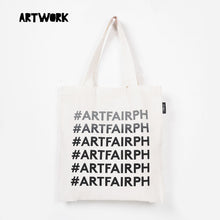 Load image into Gallery viewer, Artwork x Art Fair PH Hashtag Tote
