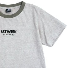 Load image into Gallery viewer, Artwork T-shirt Gray Girls Tee