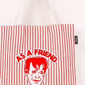 As A Friend Tote Bag