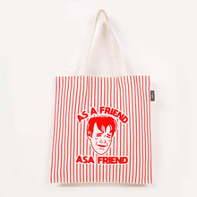 Load image into Gallery viewer, As A Friend Tote Bag