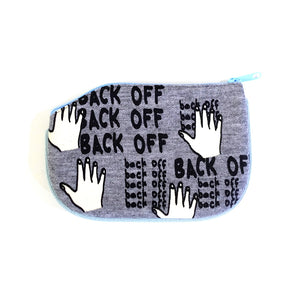 Back Off Coin Purse