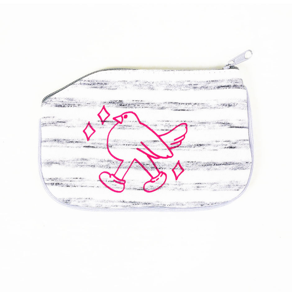 Bird Walk Coin Purse