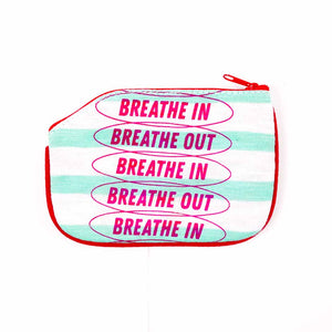 Breathe In Breathe Out Coin Purse