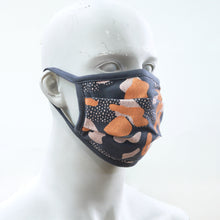 Load image into Gallery viewer, Camo 1 Charcoal Washable Face Mask