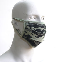 Load image into Gallery viewer, Camo 3 A Forest Washable Face Mask