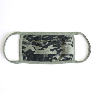Camo 3 A Forest Washable Face Mask