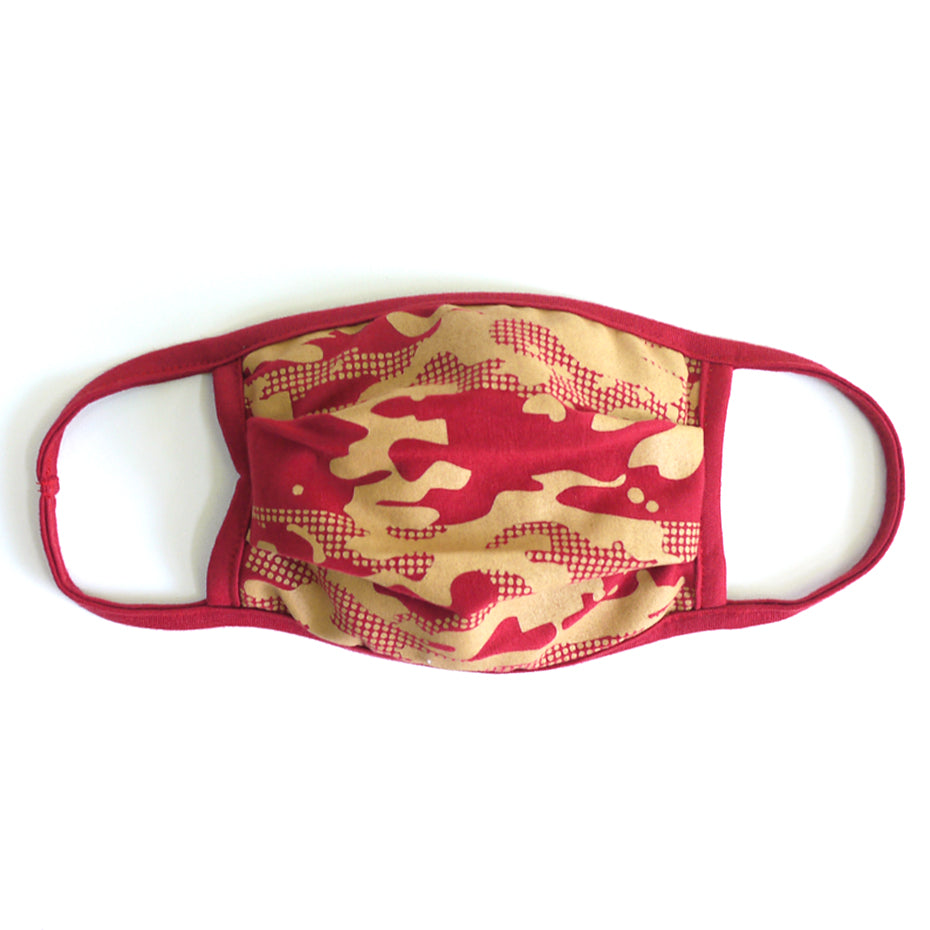 Camo 3 Chilli Washable Face Mask