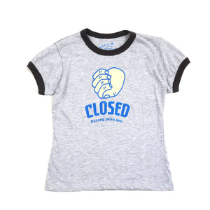 Closed Girls Ringer Tee