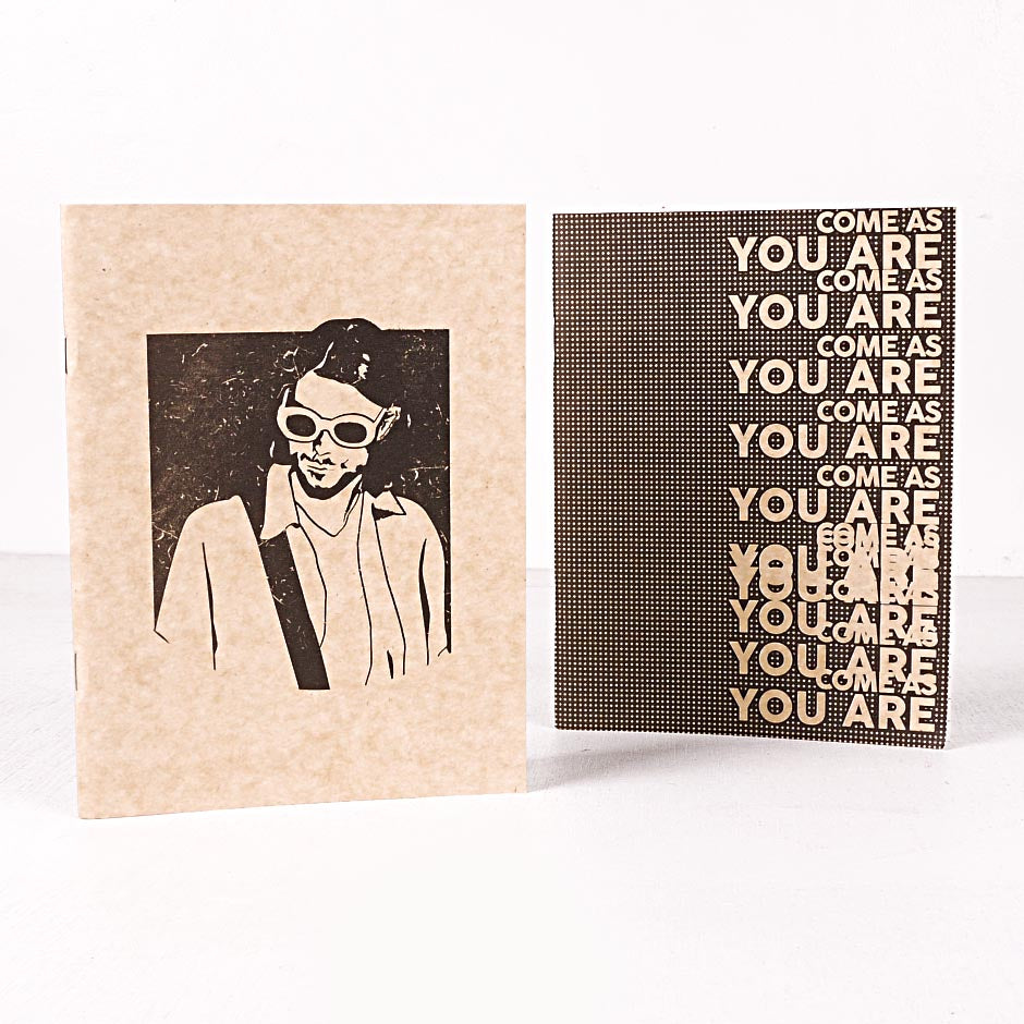 Come As You Are Notebook Set