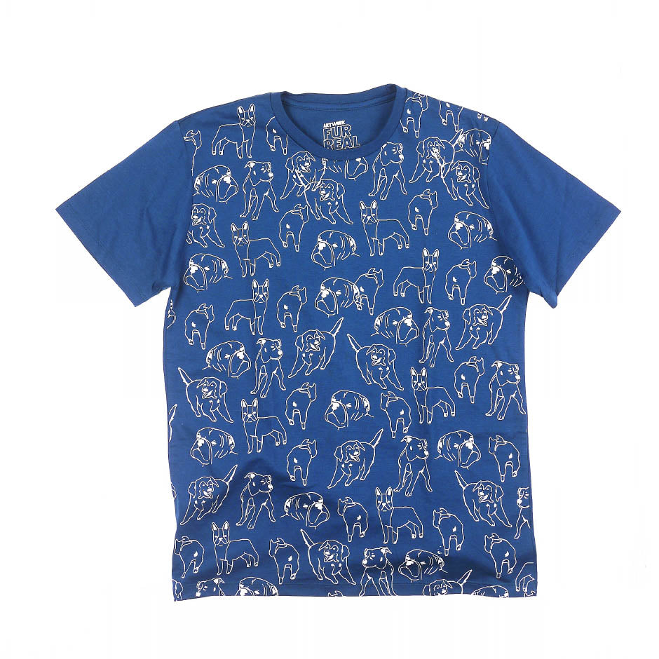 Doggo Pattern Guys Tee