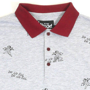 Do No Evil Guys Collared Tee