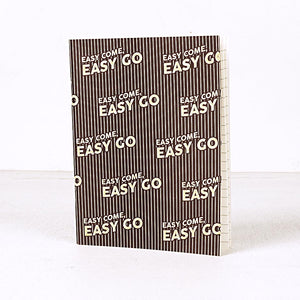 Easy Come Easy Go Notebook Set