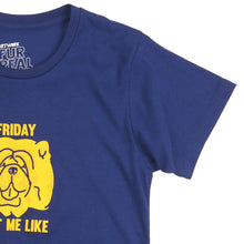 Load image into Gallery viewer, Friday Got Me Girls Tee