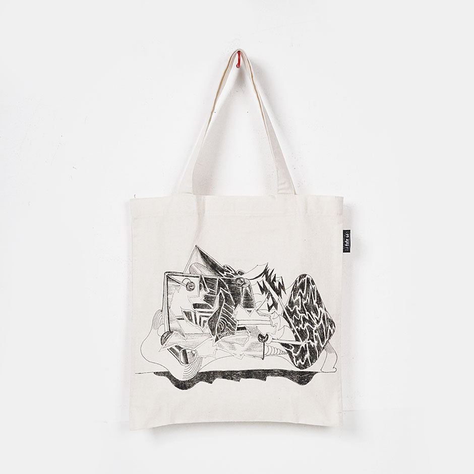 Artwork x Gene Paul Martin for Art Fair PH Tote