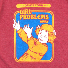 Load image into Gallery viewer, Girl Problems Girls Ringer Tee