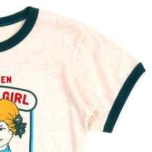 Load image into Gallery viewer, Good Girl Girls Ringer Tee