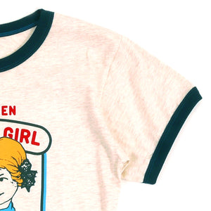 Good Girl Girls Ringer Tee