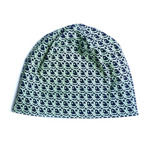 Smile Grafitti Navy Beanie