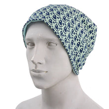 Load image into Gallery viewer, Smile Grafitti Navy Beanie