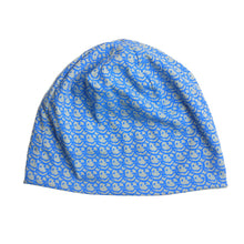 Load image into Gallery viewer, Smile Grafitti Lt. BLue Beanie