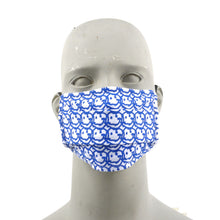 Load image into Gallery viewer, Smile Graffiti Face Mask and Alcohol Set - Blue