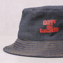 Load image into Gallery viewer, Happy On Mondays Bucket Hat