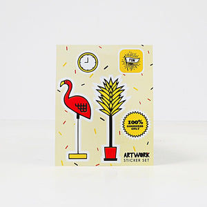 Have Fun Doodle Book and Sticker Set