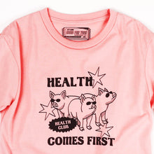 Load image into Gallery viewer, Health Comes First Girls Tee
