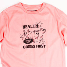 Load image into Gallery viewer, Health Comes First Guys Tee