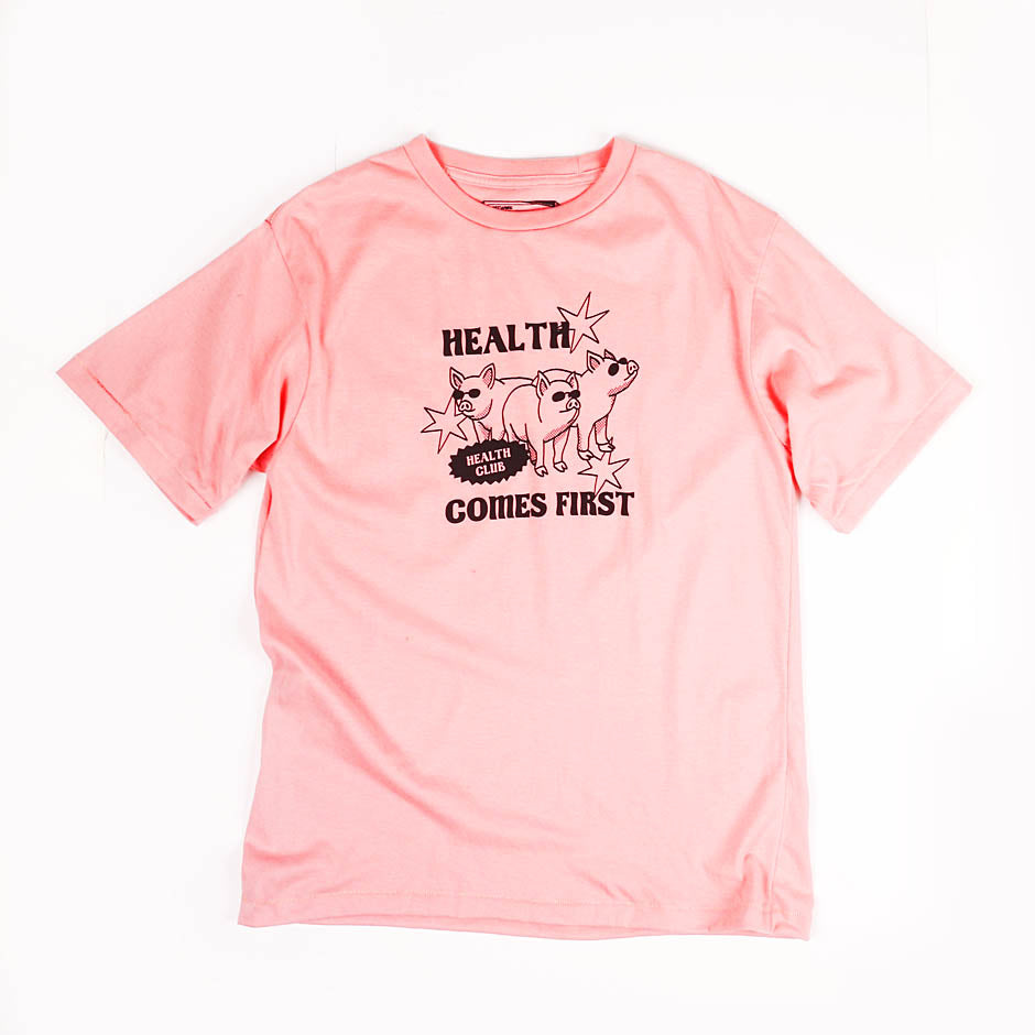 Health Comes First Guys Tee