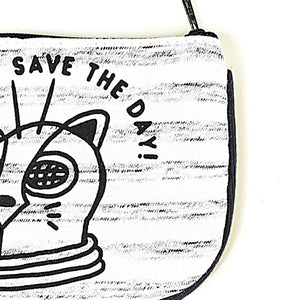 Save The Day Coin Purse