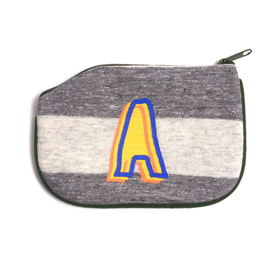 Letter A Normal Logo 2 Coin Purse