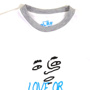 Love Or Hate Guys Ringer Tee