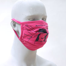Load image into Gallery viewer, Monday Fuschsia Washable Face Mask