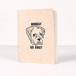 Monday Go Away Notebook Set