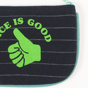Nice Is Good Coin Purse