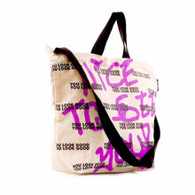 Load image into Gallery viewer, Nice To See You Sling Tote Bag
