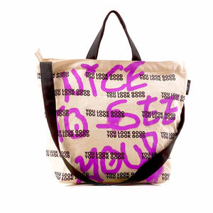 Nice To See You Sling Tote Bag